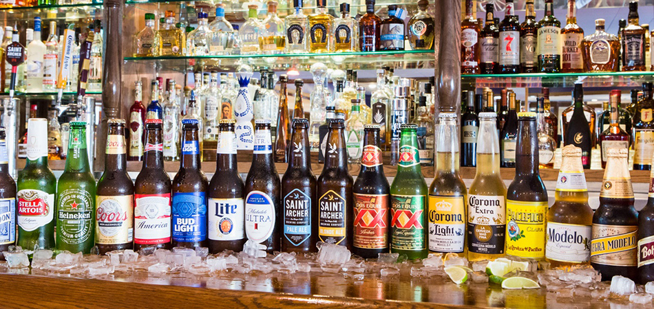 Amigo Spot offers a large assorment of beers!