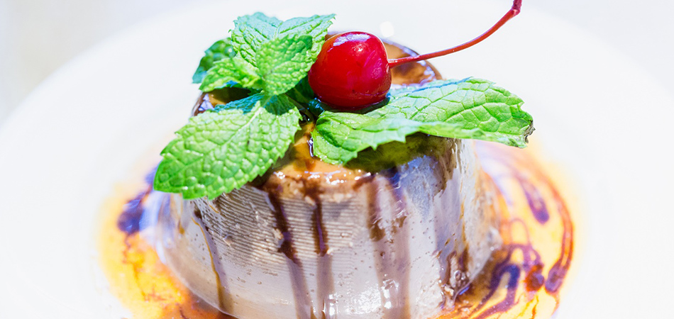Try our Amigo Spot chocolate flan